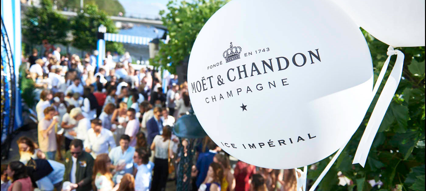 Moet Chandon 17 juni Party Day NL Custom Event